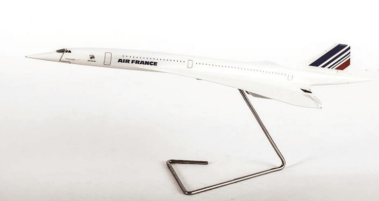 Maquette Concorde Air France