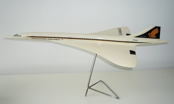 Maquette Singapore Airlines