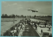 Concorde 002 arriving at Fairford 9 avril 1969