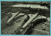 Concorde production line Filton 1974