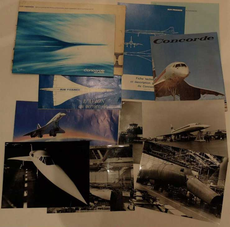 Documents Concorde