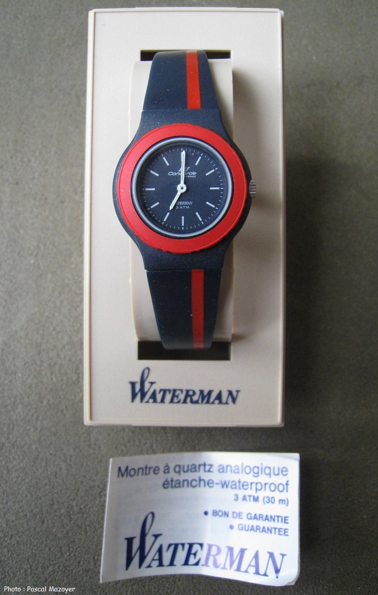 Montre Femme Concorde Air France, by Waterman