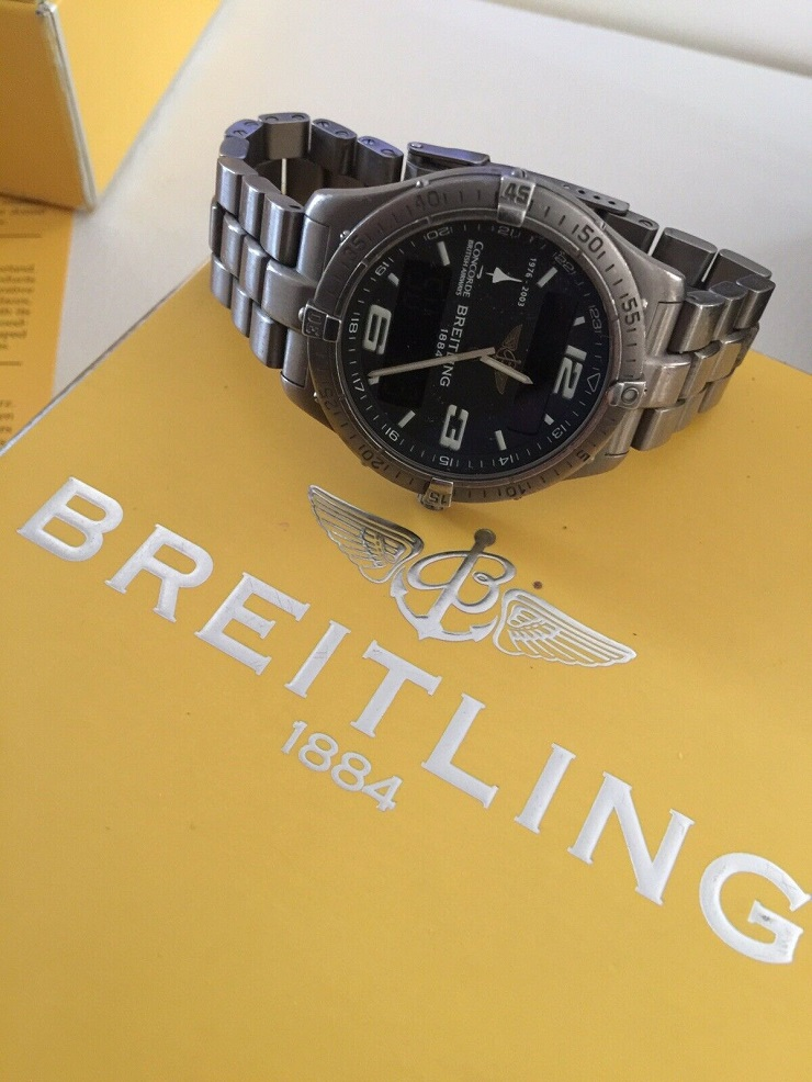 Montre BREITLING Gents Aerospace BA Concorde