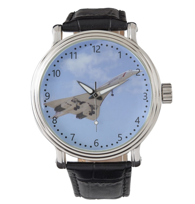 Montre Zazzle Concorde G-BOAF - 2 Watch