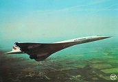 Carte postale Concorde N°298 Air France Aérospatiale